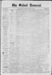 The Oxford Democrat: Vol. 39, No.15 - April 30, 1872