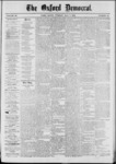 The Oxford Democrat: Vol. 39, No.16 - May 07, 1872