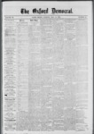 The Oxford Democrat: Vol. 39, No.17 - May 14, 1872