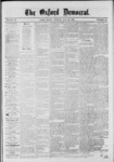 The Oxford Democrat: Vol. 39, No.19 - May 28, 1872