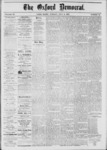 The Oxford Democrat: Vol. 39, No.24 - July 02, 1872