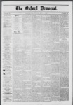 The Oxford Democrat: Vol. 39, No.25 - July 09, 1872