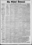 The Oxford Democrat: Vol. 39, No.26 - July 16, 1872