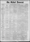 The Oxford Democrat: Vol. 39, No.28 - July 30, 1872