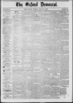 The Oxford Democrat: Vol. 39, No.29 - August 06, 1872