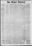 The Oxford Democrat: Vol. 39, No.31 - August 20, 1872