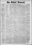 The Oxford Democrat: Vol. 39, No.32 - August 27, 1872