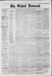 The Oxford Democrat: Vol. 39, No.36 - September 24, 1872