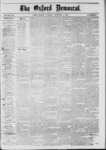 The Oxford Democrat: Vol. 39, No.37 - October 01, 1872