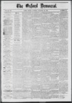The Oxford Democrat: Vol. 39, No.40 - October 22, 1872