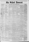 The Oxford Democrat: Vol. 39, No.41 - October 29, 1872