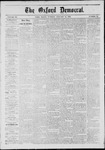 The Oxford Democrat: Vol. 39, No. 52 - January 14,1873