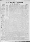 The Oxford Democrat: Vol. 40, No. 1 - January 21,1873