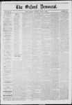 The Oxford Democrat: Vol. 40, No. 11 - April 01,1873