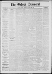 The Oxford Democrat: Vol. 40, No. 15 - April 29,1873