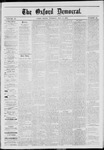 The Oxford Democrat: Vol. 40, No. 16 - May 06,1873
