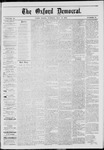 The Oxford Democrat: Vol. 40, No. 17 - May 13,1873
