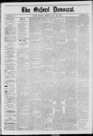 The Oxford Democrat: Vol. 40, No. 18 - May 20,1873