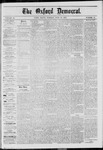 The Oxford Democrat: Vol. 40, No. 21 - June 10,1873