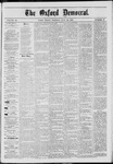 The Oxford Democrat: Vol. 40, No. 27 - July 22,1873