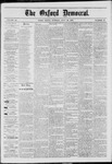 The Oxford Democrat: Vol. 40, No. 28 - July 29,1873