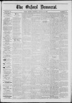 The Oxford Democrat: Vol. 40, No. 30 - August 12,1873