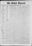 The Oxford Democrat: Vol. 40, No. 38 - October 07,1873