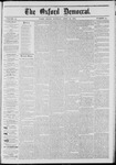 The Oxford Democrat: Vol. 41, No. 14 - April 21,1874