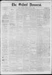 The Oxford Democrat: Vol. 41, No. 22 - June 16,1874