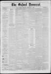 The Oxford Democrat: Vol. 41, No. 33 - September 01,1874