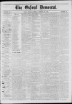 The Oxford Democrat: Vol. 41, No. 39 - October 13,1874