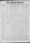 The Oxford Democrat: Vol. 41, No. 42 - November 03,1874