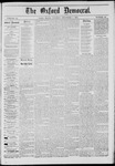 The Oxford Democrat: Vol. 41, No. 46 - December 01,1874