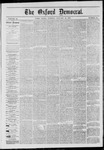 The Oxford Democrat: Vol. 41, No. 52 - January 12,1875