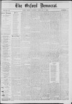 The Oxford Democrat: Vol. 42, No. 4 - February 09,1875