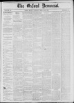 The Oxford Democrat: Vol. 44, No. 10 - March 20,1877