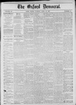 The Oxford Democrat: Vol. 44, No. 13 - April 10,1877