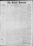 The Oxford Democrat: Vol. 44, No. 27 - July 17,1877