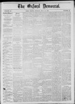 The Oxford Democrat: Vol. 44, No. 29 - July 31,1877