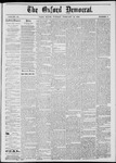 The Oxford Democrat: Vol. 45, No. 5 - February 12,1878
