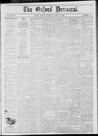 The Oxford Democrat: Vol. 45, No. 13 - April 09,1878