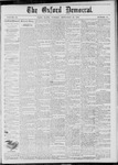 The Oxford Democrat: Vol. 45, No. 35 - September 10,1878