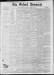 The Oxford Democrat: Vol. 45, No. 38 - October 01,1878