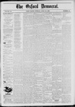 The Oxford Democrat: Vol. 46, No. 16 - April 29,1879