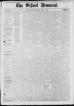 The Oxford Democrat: Vol. 46, No. 20 - May 27,1879