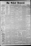 The Oxford Democrat: Vol. 47, No. 10 - March 16,1880