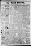 The Oxford Democrat: Vol. 47, No. 15 - April 20,1880