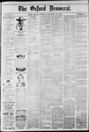 The Oxford Democrat: Vol. 47, No. 37 - September 21,1880