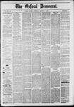 The Oxford Democrat: Vol. 48, No. 8 - March 01,1881