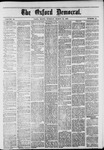 The Oxford Democrat: Vol. 48, No. 10 - March 15,1881